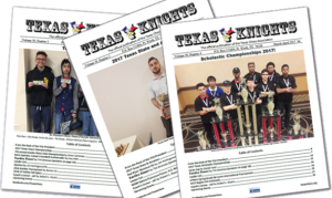 Apr-May-June 2021 Texas Knights Now Available Online