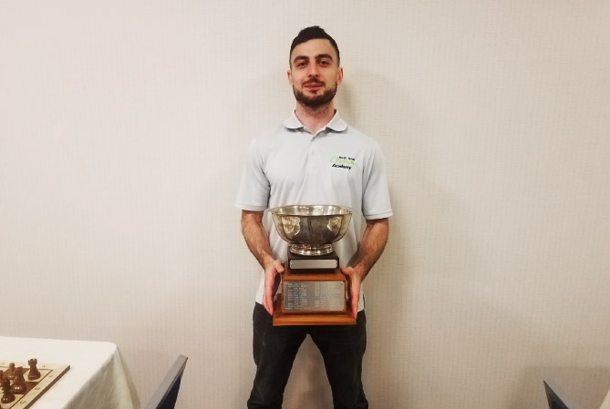 IM Zurabi Javakhadze Wins State Championship
