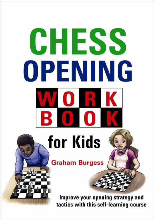 Chess Opening Workbook for Kids Cover