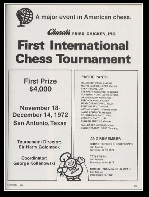 San Antonio 1972 Flyer