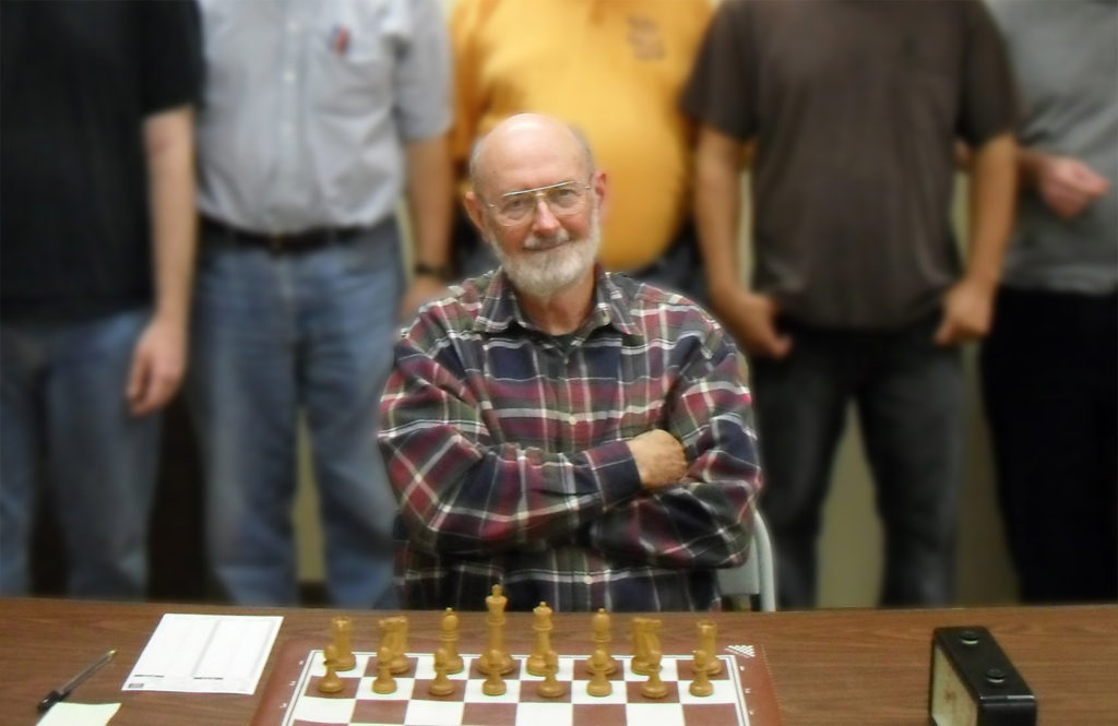 US Chess Original Life Master Gary Simms, from Amarillo, is the November 2020 Player of the Month.