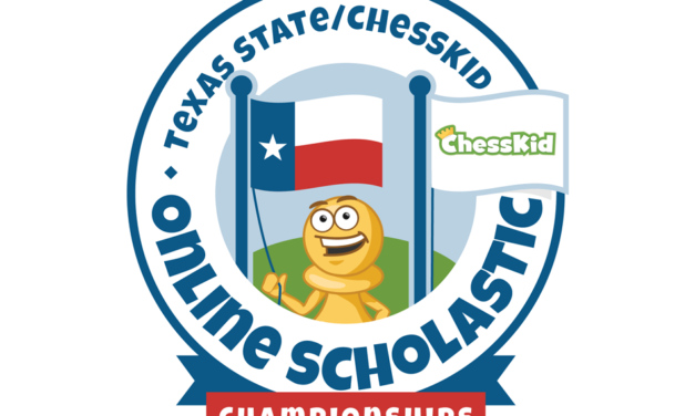 Over 700 Play in Texas State Chesskid Online Scholastic