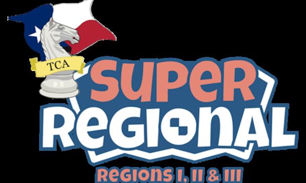 TCA SuperRegional – Regions I, II & III Results