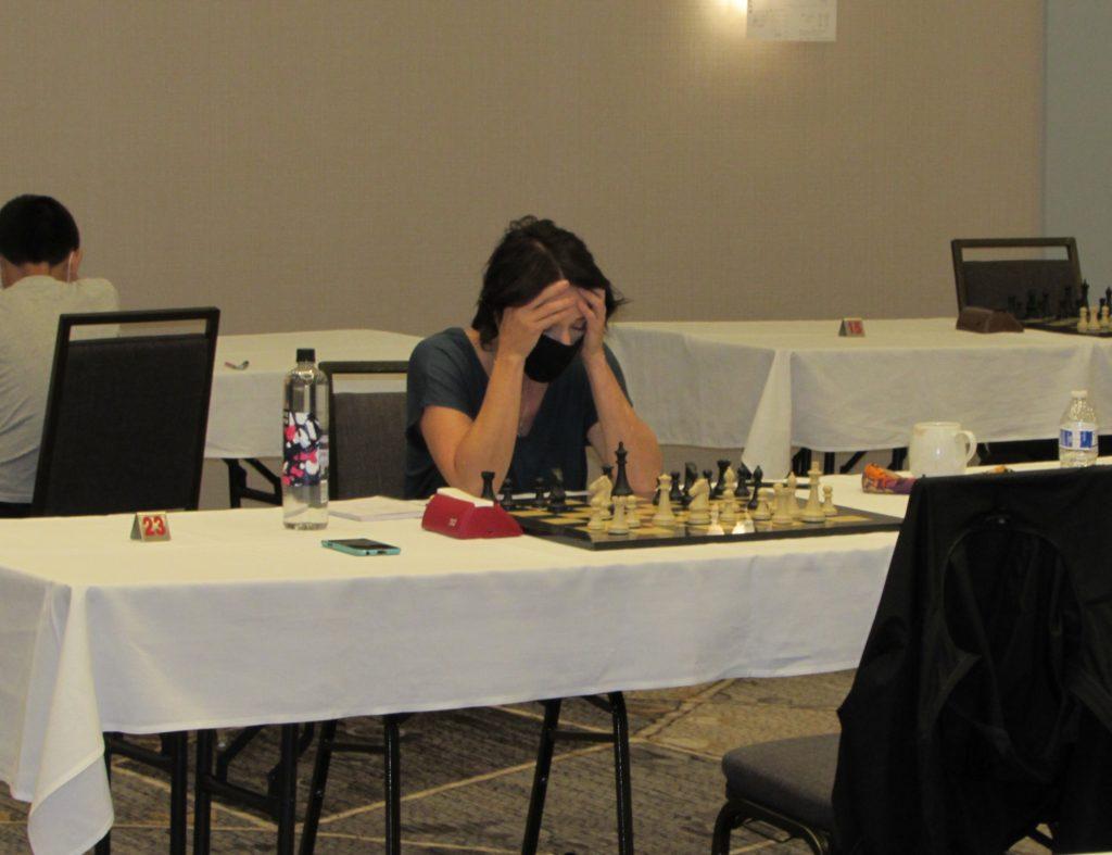 Rebecca Rutledge, of Oklahoma Chess Team fame. Photo by Arlington Chess Club's Jim Clarke.