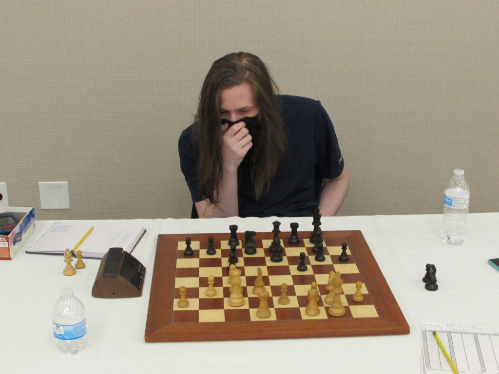 Arlington Chess Club's Daniel Clark. Photo by his father, Arlington Chess Club's Jim Clarke.
